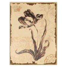 Graceful Floral Painting Print on Canvas