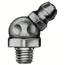 "Hydraulic Fittings - 1/4""-28 taper thread 45d"