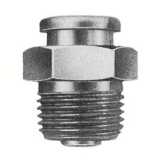 "<strong>Alemite</strong> Button Head Fittings - 3/8""ptf(m) button head f"