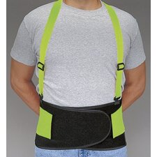 Allegro - Economy Hi-Viz Back Supports Econ. Hi-Viz Back Support Belt - X-Large: 037-7178-04 - econ. hi-viz back support belt - x-large
