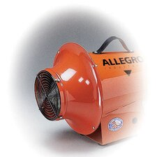 "Axial Inlet Adapter Works W/Any Allegro 8"" Axial Blower"