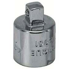 "Square Drive Adapters - 3/8"" dr adapter  1/4"" male chrome"