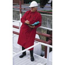 Large Sawyer-Tower CPC™ Red Polyester Trilaminate Chemical Resistant Jacket With Gore® Fabric