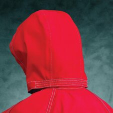 Size Sawyer-Tower CPC™ Red Polyester Trilaminate 3-Piece Chemical Resistant Hood With Gore® Fabric
