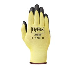10 HyFlex® CR Glove With Stretch Para-aramid synthetic fiber® Liner & Foam Nitrile Coating