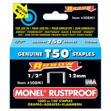 "1/2"" Monel T50 Rustproof Staples"