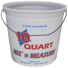 10 Quart Mix'n Measure Pail With Wire Handle 20325-300409