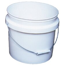3.5 Gallon White Industrial Pail 30448-201215