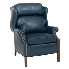 Charleston Leather Wing Recliner