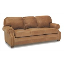 Sumner Leather Sleeper Sofa
