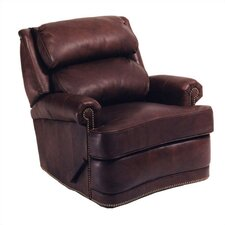 Hi-Back Pub Leather Recliner