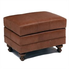 Larger Cartwright Leather Ottoman