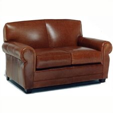 Jordan Leather Loveseat