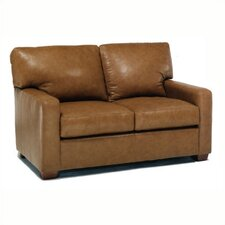 Maison Leather Loveseat