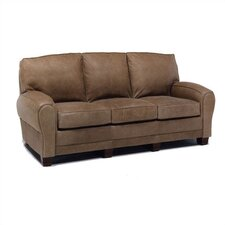 Kensington Leather Loveseat