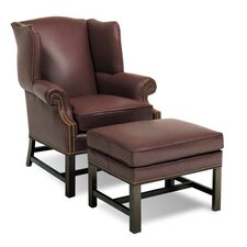 Chippendale Leather Chair