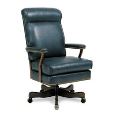 Judges High-Back Leather Swivel / Tilt Office Chair