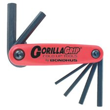 <strong>Bondhus</strong> GorillaGrip® Fold-Ups - 3mm-10mm gorilla grip fold-up set