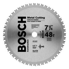 "Carbide Construction/Framing Blade With 48 TPI, 5/8"" With 13/16"" Diamond Arbor, 0° Hook Angle And 0.079"" Kerf"