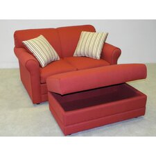 <strong>LaCrosse Furniture</strong> Vibrant Twin Sleeper Sofa