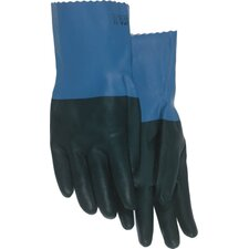 Supported Neoprene Coated Chemical Gloves