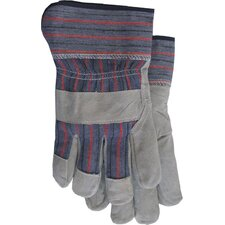 Large Economy Split Leather Palm Gloves