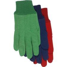 Children's Assorted Jersey Gloves (Set of 12)