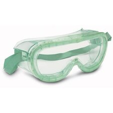 Panagoggle™ Indirect Vent Goggles With Green Frame And Clear Lens