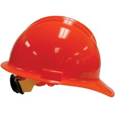 Orange Classic Model C30 Hardhat WIth 6 Point Ratchet Suspension