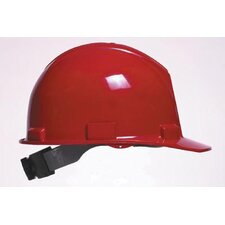 Series Red Safety Cap With 4-Point Ratchet Suspension