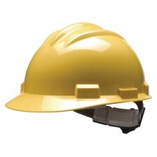 Series Yellow Safety Cap With 4 Point Pinlock Headgear And Cotton Browpad