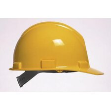 Series Yellow Safety Cap With Self-Sizing 4-Point Suspension And Microporite® Brow Pad (20 Per Case)