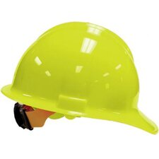 Yellow Classic Model C30 Hardhat WIth 6 Point Ratchet Suspension
