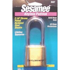 Sesame Keyless Padlocks - sesamee keyless marinepadlock