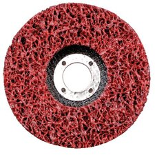 EZ Strip Wheels, Non-Woven - 4 1/2 x 5/8-11 sil carbide xtra coarse-red