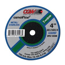 Type 1 Cut-Off Wheels, Air & Electric Die Grinders - 3x1/32x3/8 t1 a60-r-bf cutoff wheel