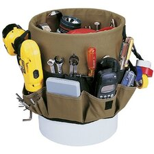 Bucket Organizers - 48-pocket bucket pocketsin & out