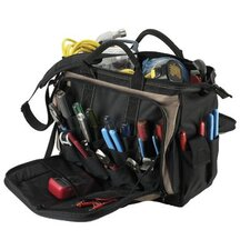 "<strong>CLC Custom Leather Craft</strong> Soft Side Tool Bags - 18"" multi-compartment tool carrier"