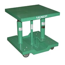 <strong>Wesco Manufacturing</strong> Foot Operated Hydraulic Lift Table