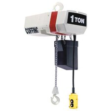 EC-V Variable Speed Chain Hoists - elec chain hoist w/ variable spd  1 ton 20ft cha