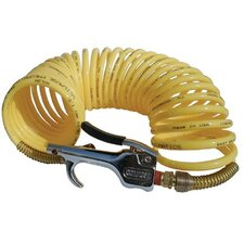 Safety Blow Gun & Nylon Recoil Assemblies - 13249 600-s blowgun & n14-12a hose