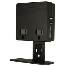 Surge Protector and USB Charger