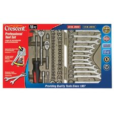 Crescent - 70 Piece Professional Mechanic Tool Set