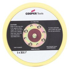 "Master Power - Random Orbital Sander Backup Pads 6"" Hook And Loop Non-Vacpad: 473-543023 - 6"" hook and loop non-vacpad"