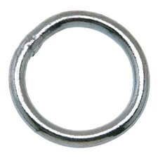 "Welded Rings - 3/16"" x 1-1/4""blu-kromewelded ring"