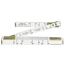 Red End® Modular Spacing Rulers - rugged rule 646r