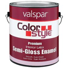 <strong>Valspar</strong> 1 Gallon ColorStyle® Interior Latex Semi Gloss Enamel Paint 44-262