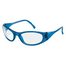 Frostbite2® Protective Eyewear - frostbite2 blue frame clear lens safety glass