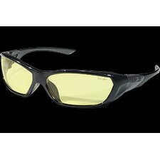 <strong>Crews</strong> ForceFlex®™ Safety Glasses With Amber Lens And Black Frames