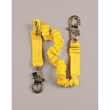 "**DBI/SALA® ShockWave2™ 6' Shock Absorbing Lanyard With Aluminum Hook, 2-1/4"" Opening At One End (Replaced By D621244311)"
